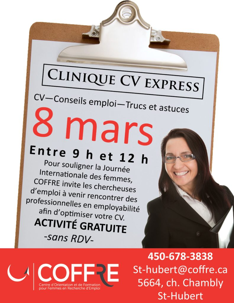 Clinique CV express_sthub_mars2017